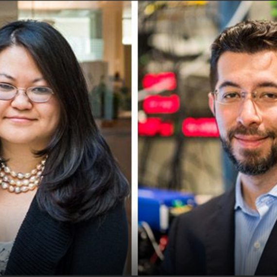 Eva Tan and Ed Boyden